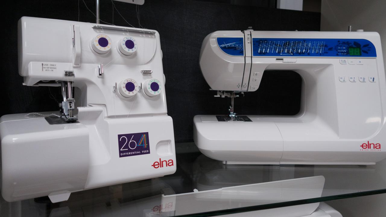 Elna Paket-Preis Elna eXperience 520 und Elna 264 overlock
