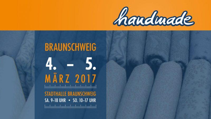 Kreativmesse handmade Braunschweig 2017