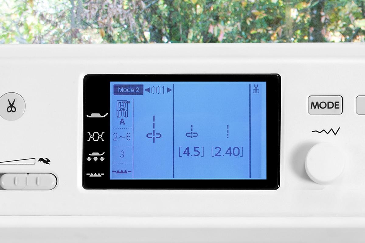 Elna eXcellence 720PRO Ecran LCD