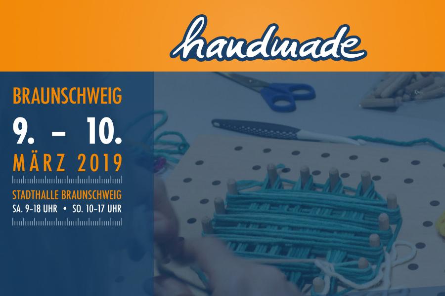 handmade Braunschweig Stadthalle Braunschweig (9.-10. März 2019)