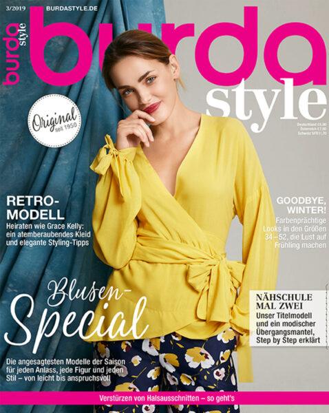 burda style Ausgabe März 2019