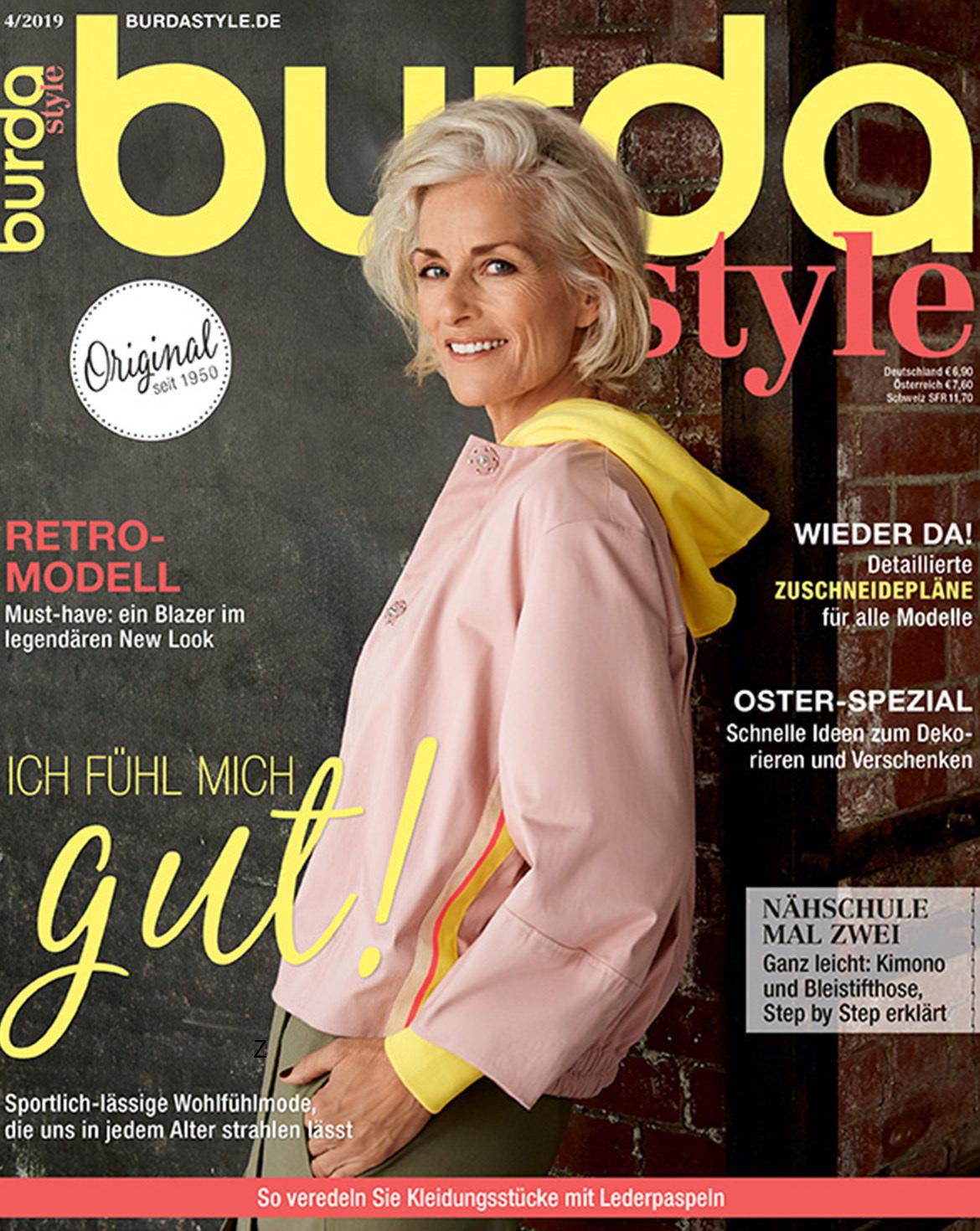 burda style Ausgabe April 2019