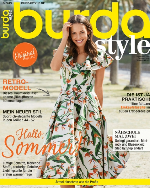 burda style Ausgabe Mai 2019