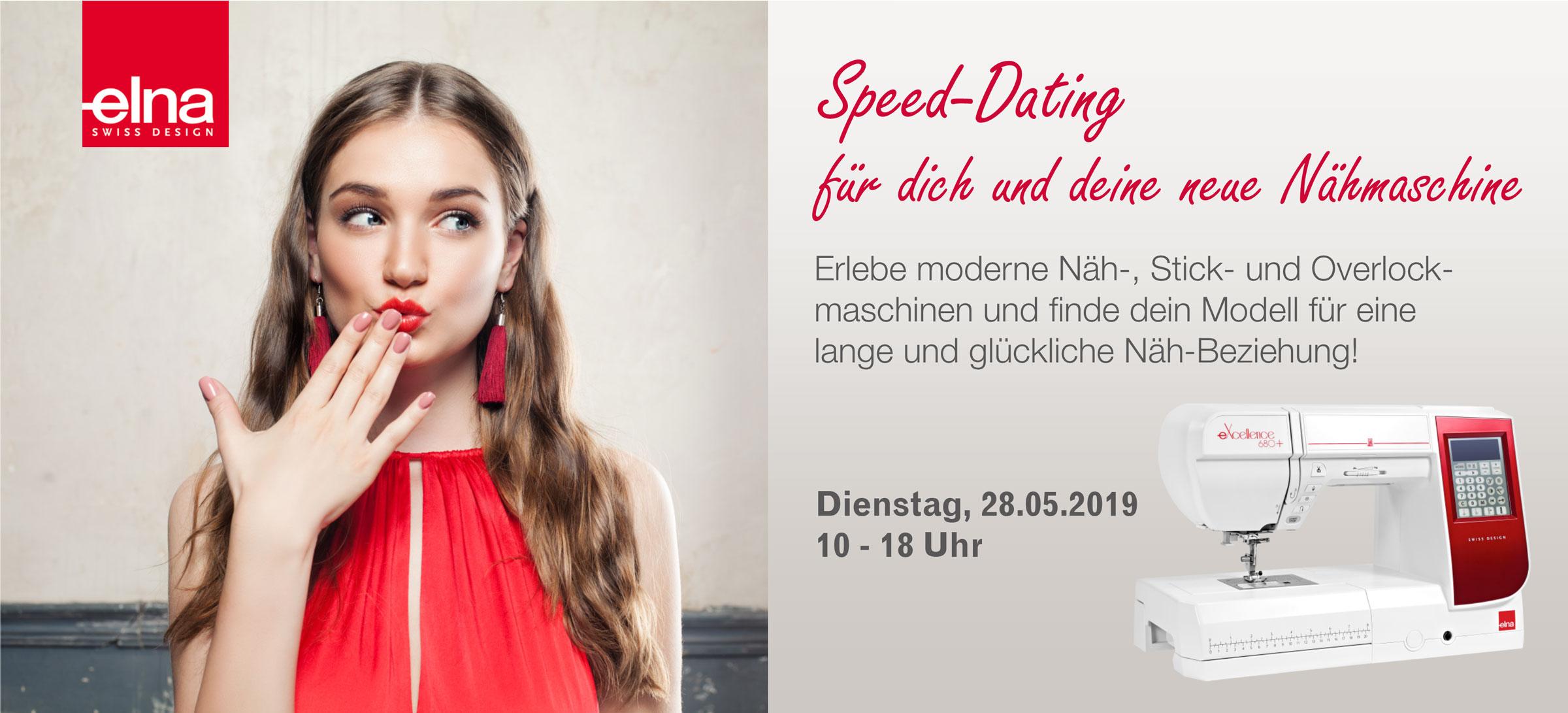 Speed-Dating für dich und deine Nähmaschine