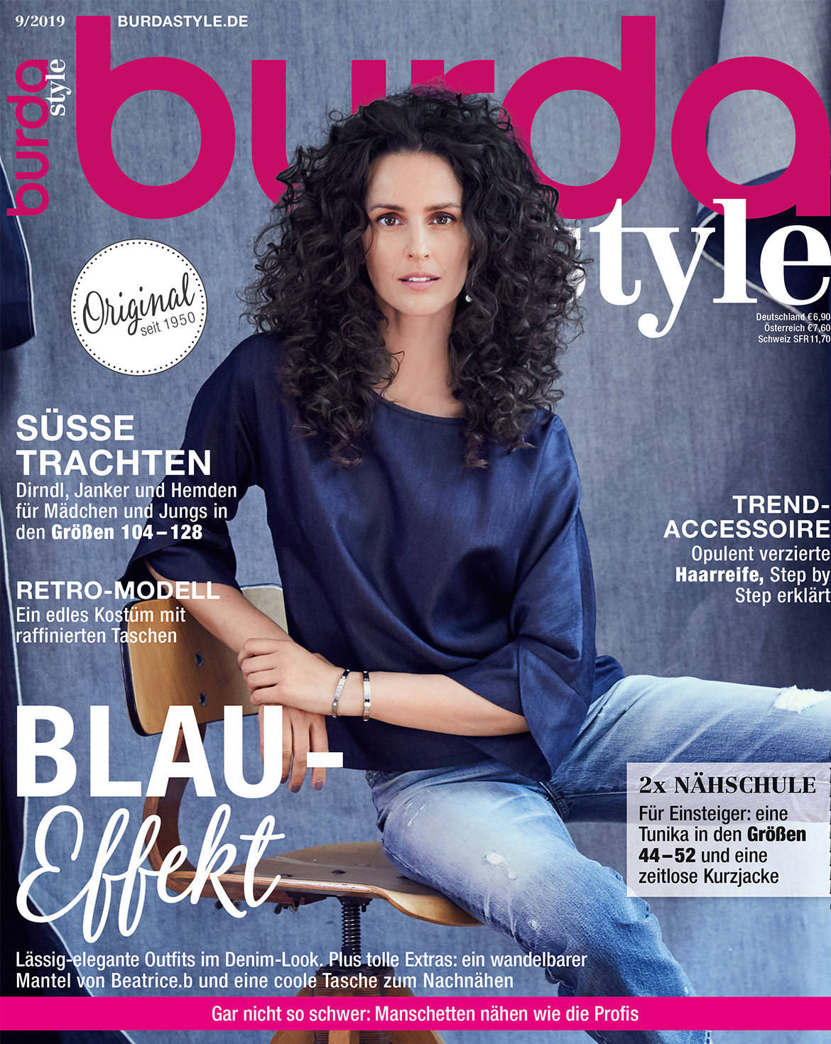 burda style Ausgabe September 2019