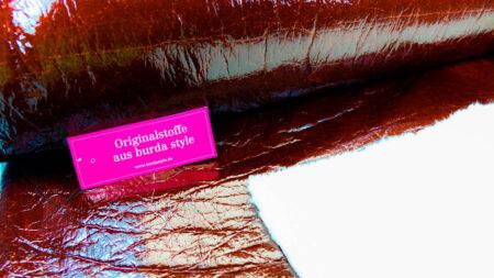 Stoff 83070 Lack Mit Fake Fur Abseite