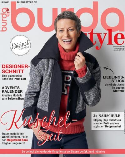 burda style Ausgabe November 2019