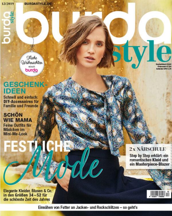 burda style Ausgabe Dezember 2019