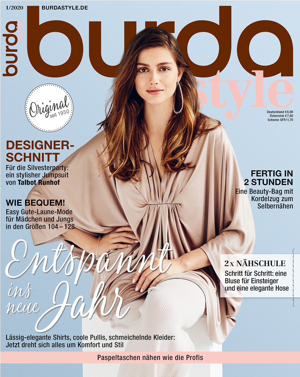 burda style Ausgabe Januar 2020