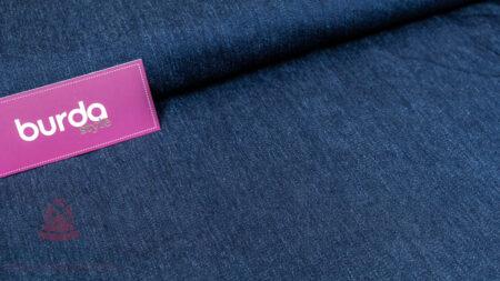 Stoff 83520 Jeans Stretch Fellimitat Jeansblau