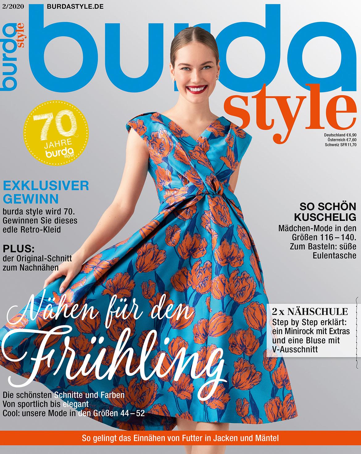 burda style Ausgabe Februar 2020