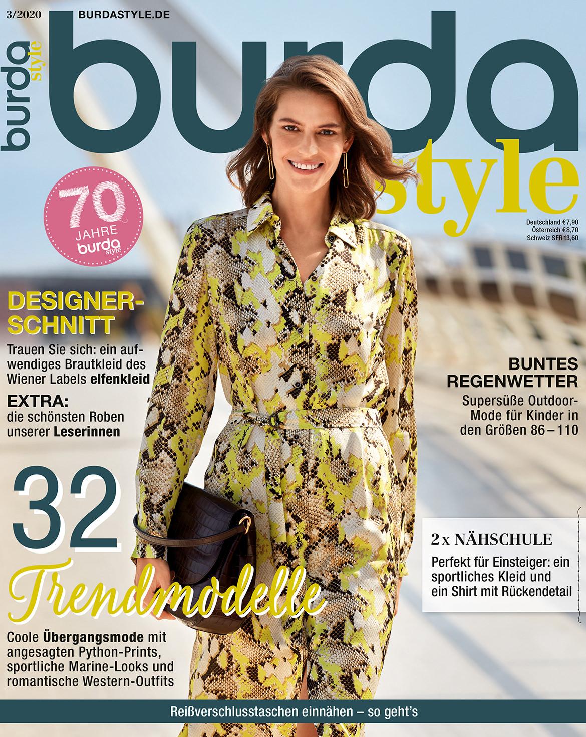 burda style Ausgabe März 2020