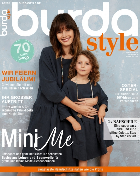 burda style Ausgabe April 2020