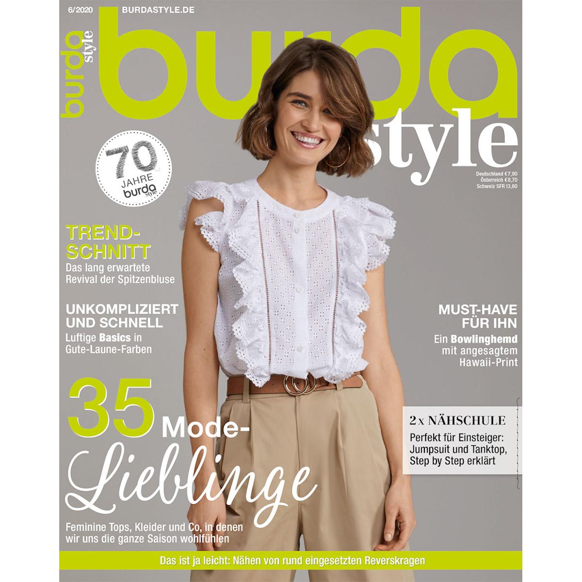 burda style Ausgabe Juni 2020