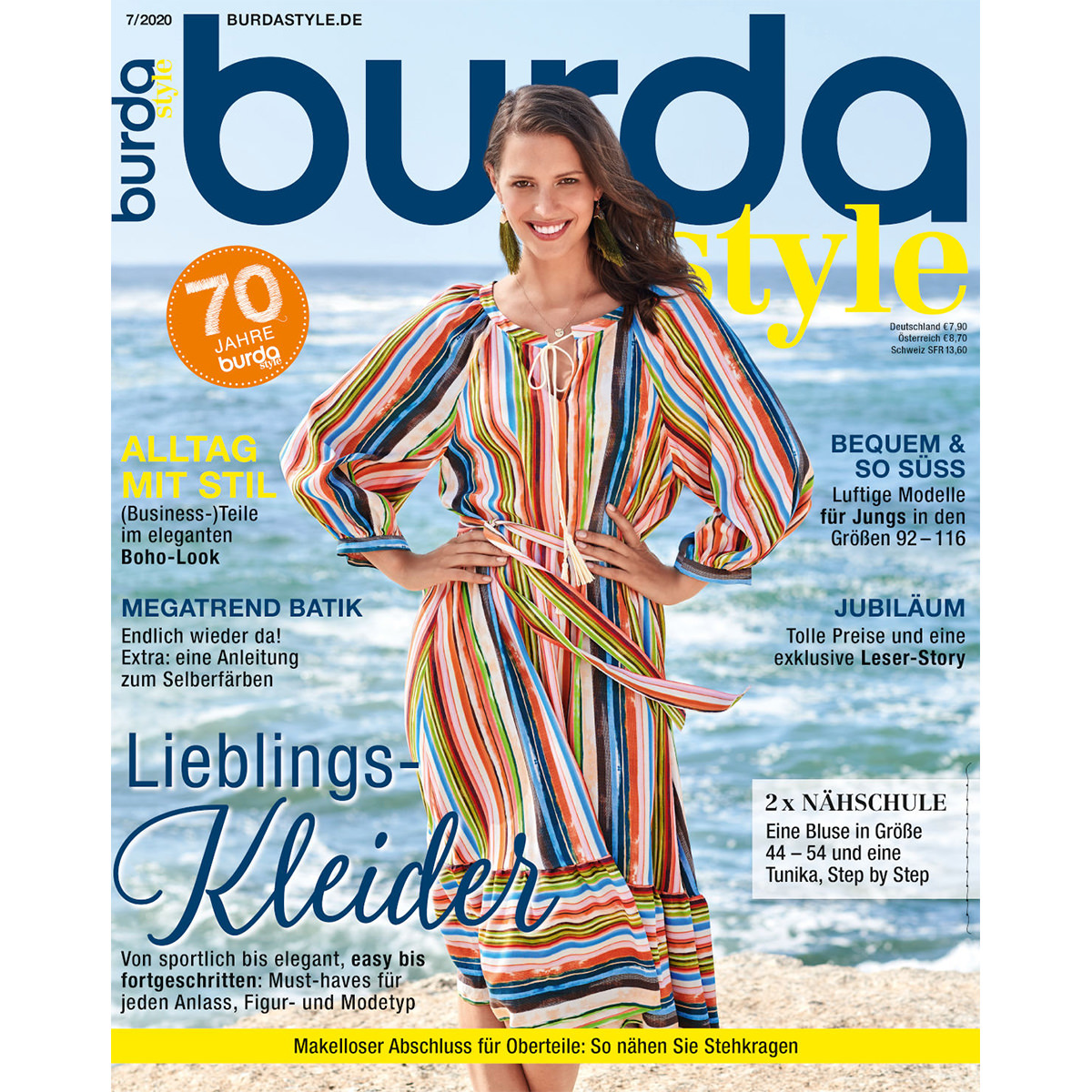 burda style Ausgabe Juli 2020