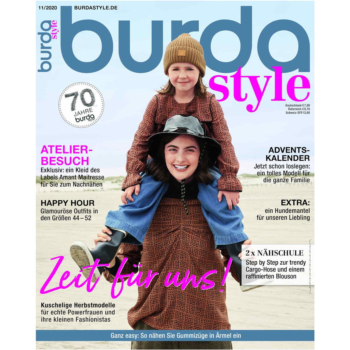 burda style Ausgabe November 2020