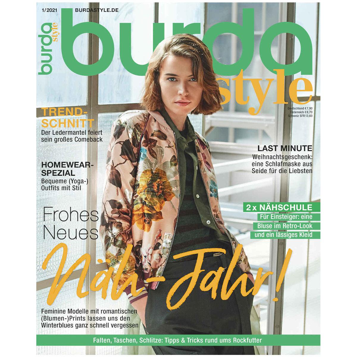 burda style Ausgabe Januar 2021
