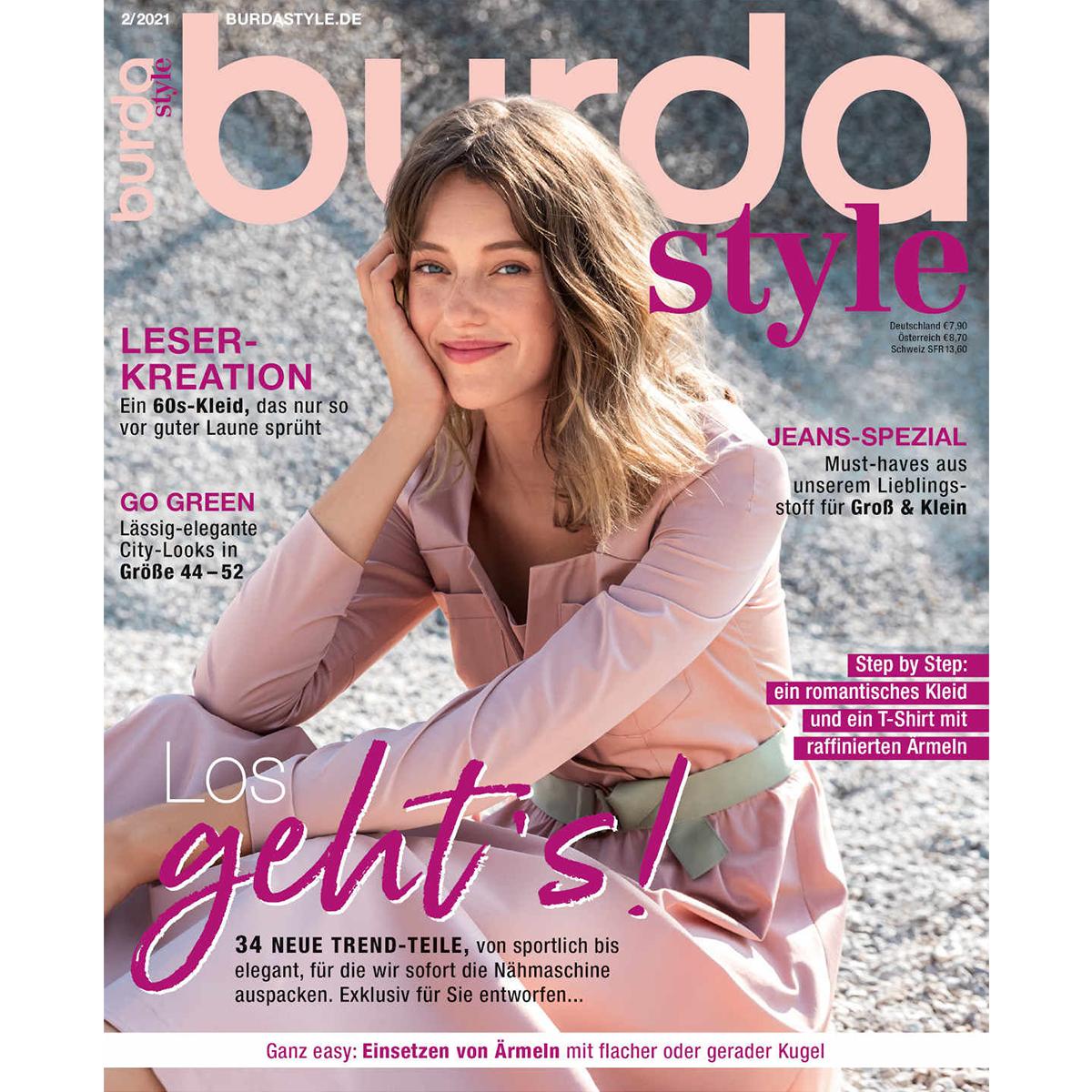 burda style Ausgabe Februar 2021