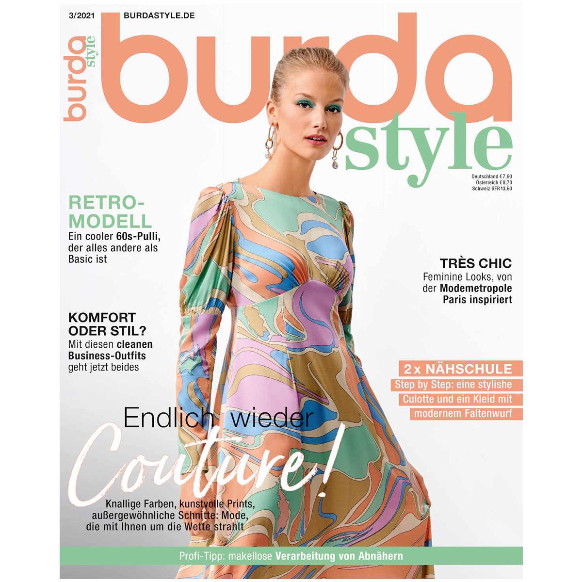 burda style Ausgabe März 2021
