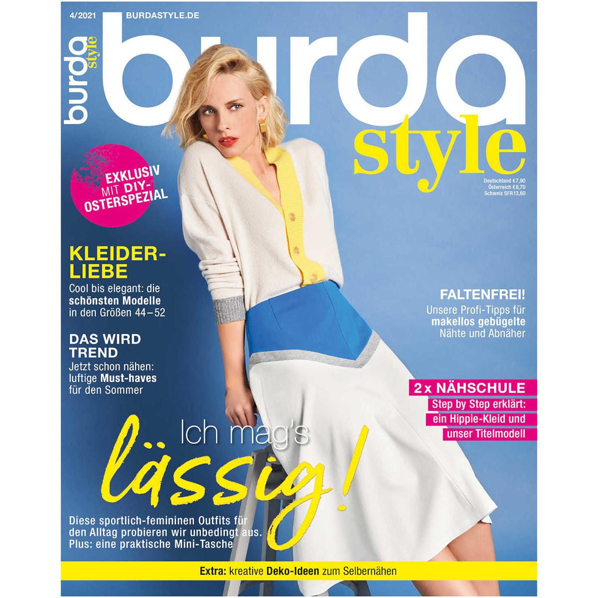 burda style Ausgabe April 2021