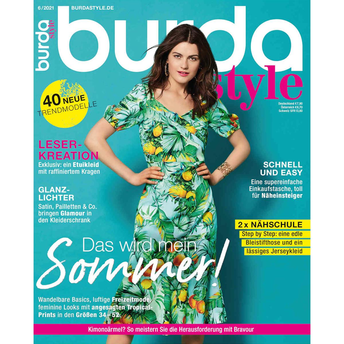 burda style Ausgabe Juni 2021