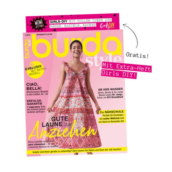 burda style Ausgabe Juli 2021