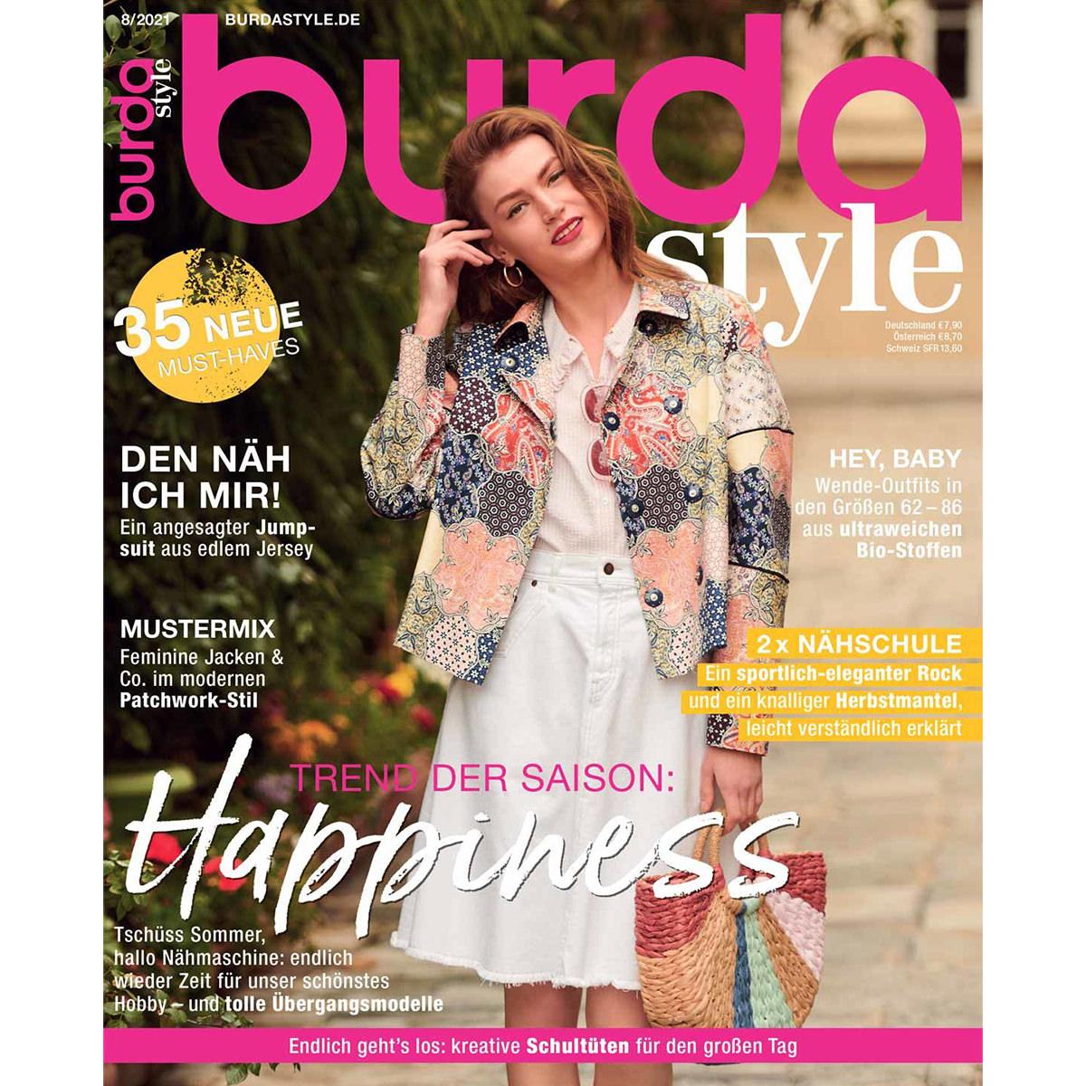 burda style Ausgabe August 2021