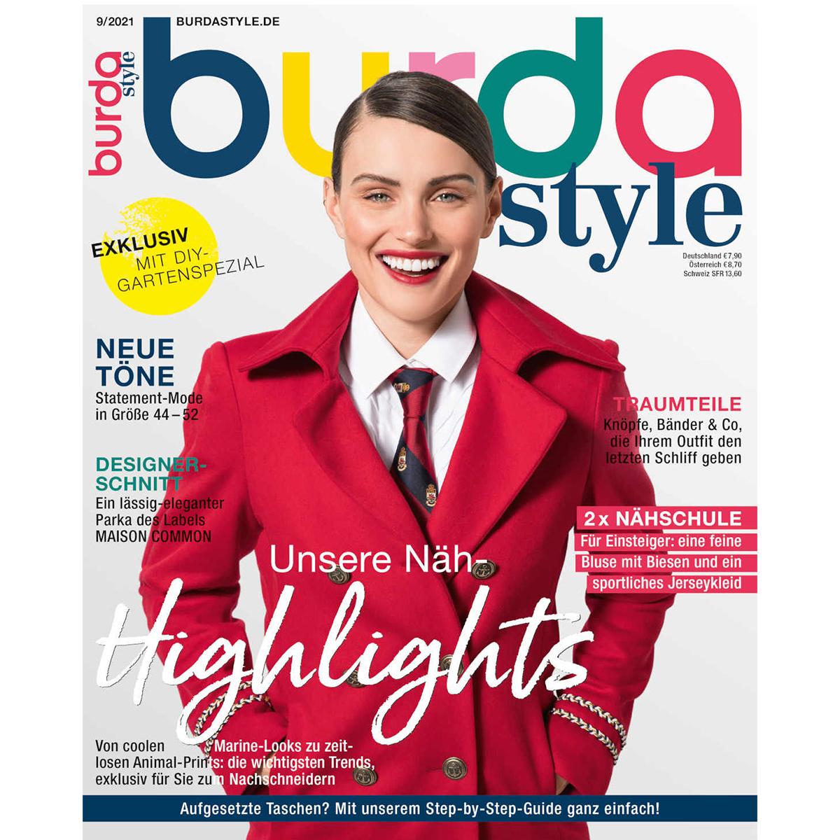 burda style Ausgabe September 2021