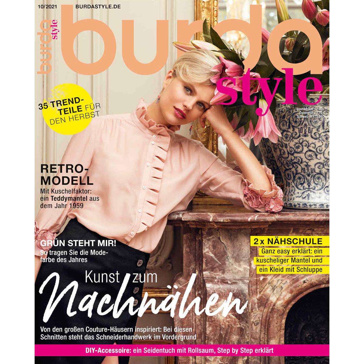 burda style Ausgabe Oktober 2021