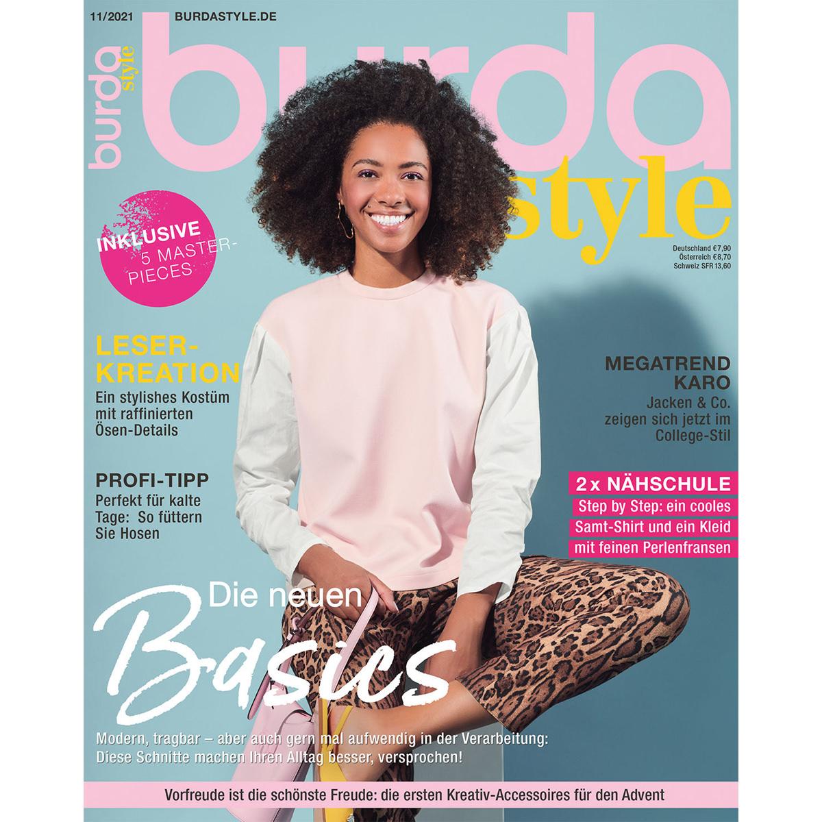 burda style Ausgabe November 2021